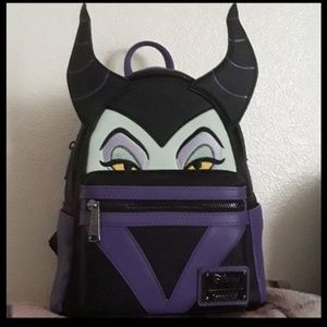 Disney Loungefly Maleficent Backpack Nwt